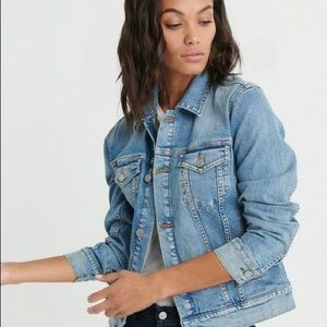 Lucky brand trucker denim jacket